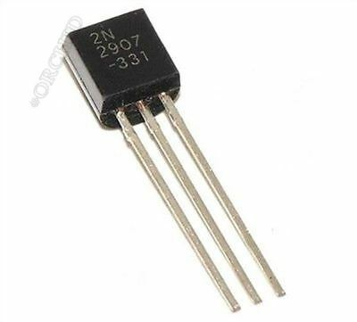 50Pcs 2N2907 2N2907A TO-92 Transistor Ic New wk