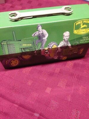 John Deere Mini Metal Lunch Box