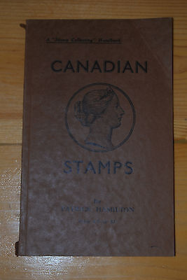 """Weeda Canadian Stamps by Patrick Hamilton, A """"Stamp Collecting"""" Handbook to 1937"""