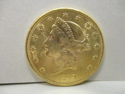 1899-S U.S. Liberty Gold $20.00 Coin