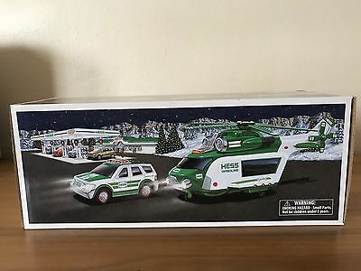 2012 HESS HELICOPTOR & RESCUE TRUCK Toy - New In Box
