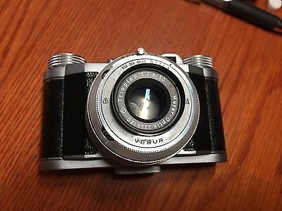 Vintage ALTIX IV Altissa 35mm FILM CAMERA w/Meyer Optic Trioplan 1:2.9/50 LENS
