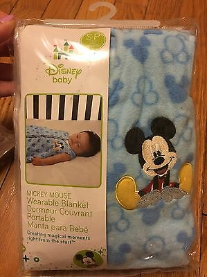 Disney Baby Mickey Mouse Wearable Blanket S-P 0-6m