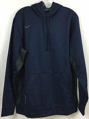 NWT Men's Nike Therma Fit Hoodie, Navy, Size L
