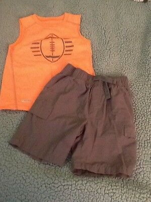 Toddler Boys Shorts and Shirt Set, from Jumping Bean, Size 4T