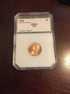 1995 Doubled Die Obverse Lincoln Cent -  1C