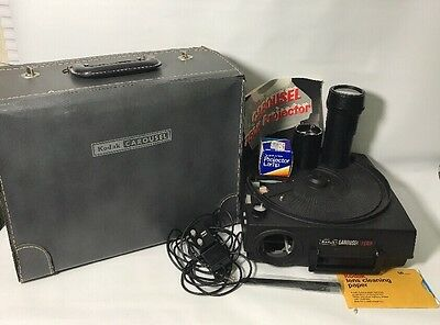 Kodak Carousel Slide Projector 750H Vintage Please Read All 👀