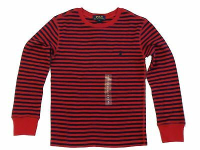 NWT Ralph Lauren Boys Striped Cotton Pullover Sweater Size S 8