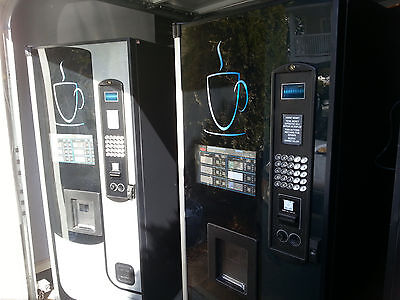 2 Wittern Coffee Vending Machines