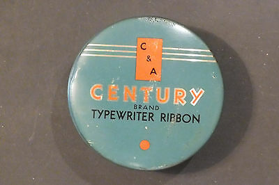 Vintage Century TypeWriter Ribbon Tin
