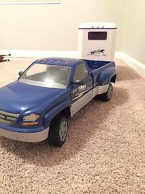 Breyer Horse Dually Truck and Trailer Combo