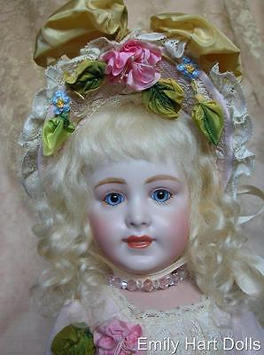 "S.F.B.J. 238 ""Jewel Eyes"" Porcelain doll HEAD ONLY by Emily Hart Grandmaster"