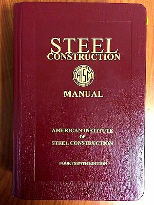 AISC Steel Construction Manual 14th Edition, Lightly Used