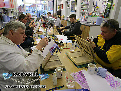 Beginners MODEL / WAR GAME Airbrushing workshop tuition class NOVEMBER 2017