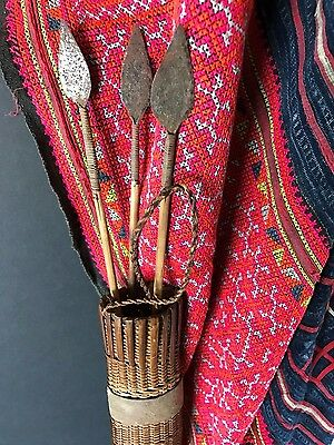 Old African Pygmy Quiver & Arrows …beautiful collection item