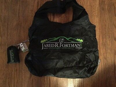 2 Brand New Chico Reusable Shopping Grocery Bags Nylon Black Packable