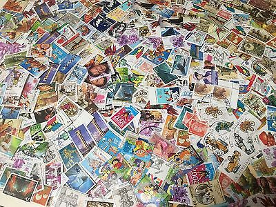 BULK LOT Of HUNDREDS Of AUSTRALIAN STAMPS OFF PAPER - Good Condition
