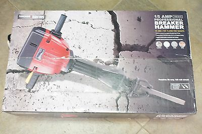 NEW Chicago Electric 68147 15 Amp Heavy Duty Professional Breaker Hammer Jack