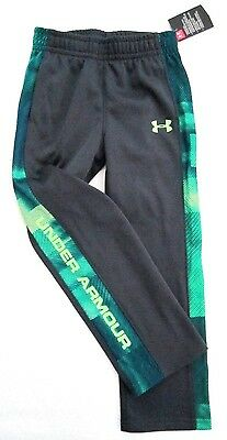 Under Armour Little Boys Stealth Gray Polyester Athletic Track Pants MSRP $32.99