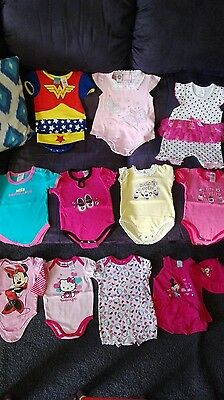 Baby Girls Clothes - Size 00 - All Brand New