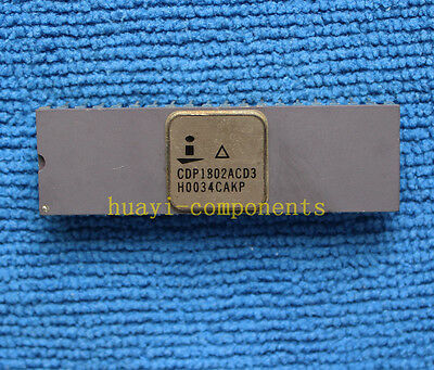 1pcs CDP1802ACD3 CDP1802ACD High-Reliability CMOS 8-Bit Microprocessor DIP-40