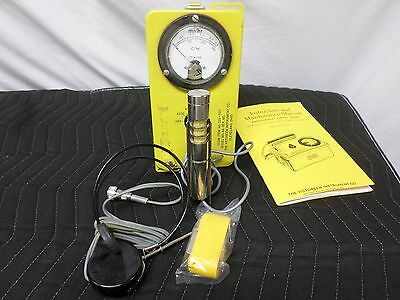 Victoreen Cdv-700 Radiological Survey Meter/geiger Counter Model 6A (46331)