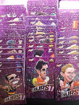 2017 purple starburst *pick a card* afl select footy stars revised!!