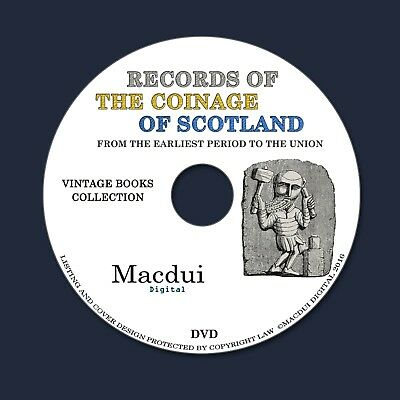 Records of the Coinage of Scotland Ebooks 2 PDF on 1 DVD Coins Parliament Scots