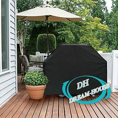 XL 190cm BBQ Cover Waterproof Garden Patio Barbecue Grill 4-6Burner Protector AU
