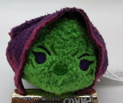 "NEW 2017 Disney Store Tsum Tsum Guardians of the Galaxy Gamora 3.5"" Plush DOLL"