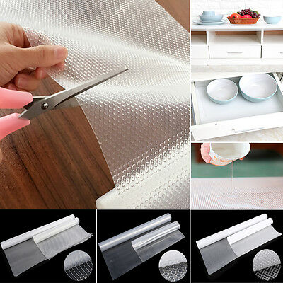 New Non-adhesive Cupboard Cabinet Shelf Drawer Liner Table Cover Mat Household S