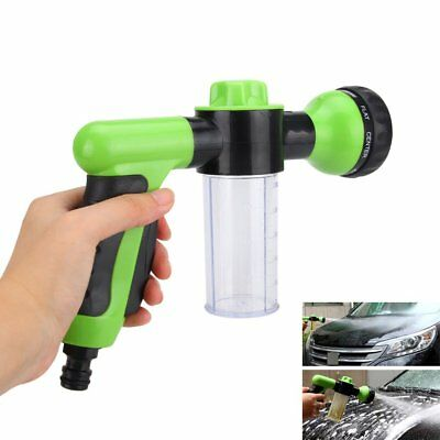 Green High Pressure Car Off-Road Wash Snow Foam Water Spray Gun Cleaner Kit