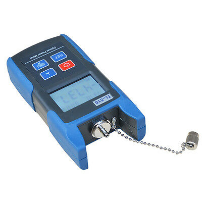 Premium Fiber Optic Power Meter Optical Tester SC/FC Adapter -70~+10dbm