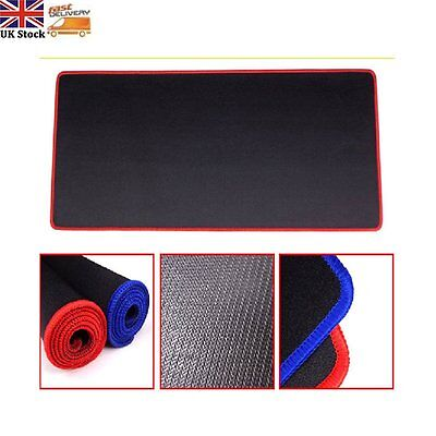 80*30cm Long Large Gaming Mouse Mat Pads Keyboard Table Pad For PC Laptop Red