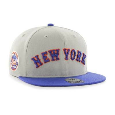 9856683eb7df0 47 BRAND NEW York Mets Sure Shot 2-Tone Snapback MLB Cap - EUR 34