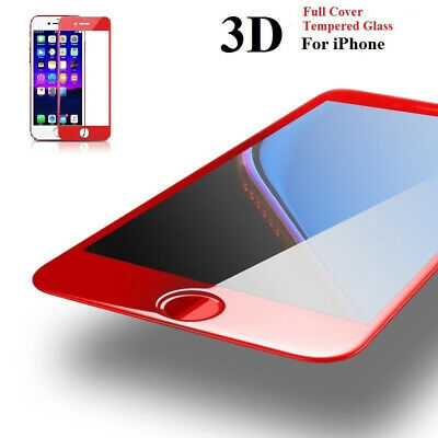 3D Curved Full Cover Soft Edge Tempered Glass Screen Protector For iPhone 7 Plus