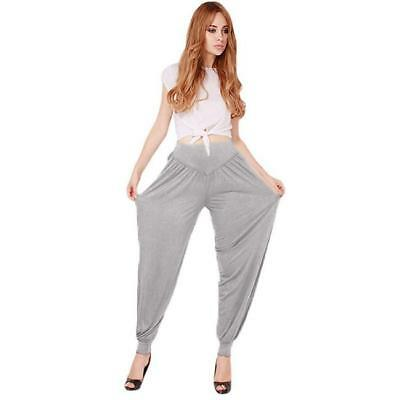 Womens Harem Genie Aladdin Causal Gypsy Exercise Dance Yoga Pants Baggy Trousers