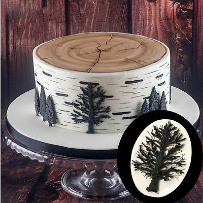 A Dead Tree Silicone Fondant Cake Mold Chocolate Baking Pastry Decor Mould