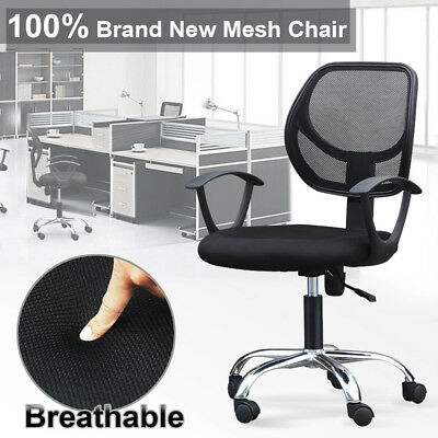 High Quality Office Chair Mesh Swivel Computer Desk Height Adjustable Gas Lift