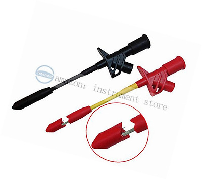 Heavy Duty Insulation Piercing Test Clip Fully Insulated Quick Multimeter Probe