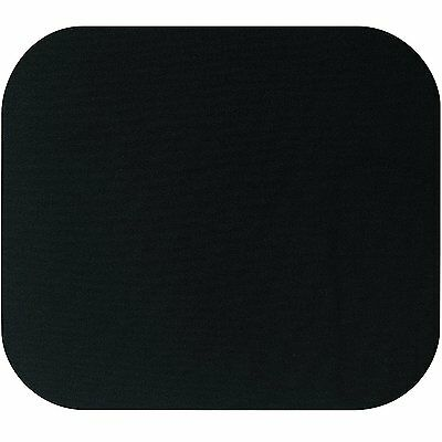 5.5mm Fabric Mouse Mat Pad BLACK  For All Mice Types **NEW**