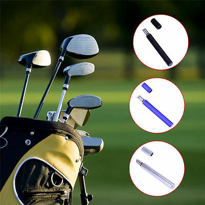 Golf Club Head Alloy Wedge Face Groove Cutter Tool Sharpener Cleaner V Shape