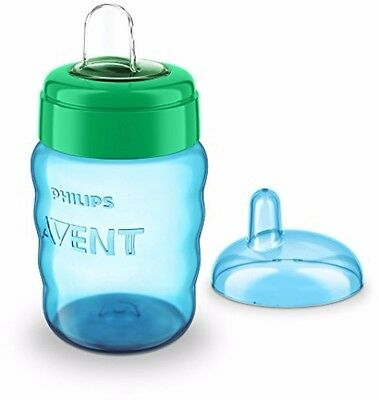 Philips Avent Easy Sip Spout Cup (260 ml, Blue) Brand NEW