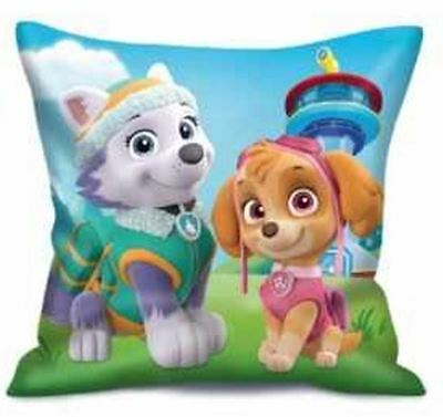 Paw Patrol Girls Childrens Pillow Cushion Teal By BestTrend