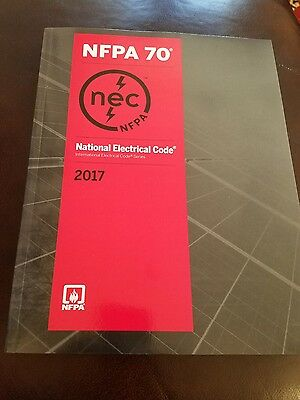2017 NEC NFPA 70 Code Book with Index Tabs