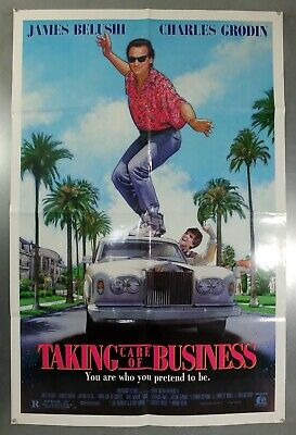 Taking Care Of Business -James Belushi- Original American One Sheet Movie Poster
