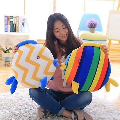 Hot Pillow Stuffed Baby Kiss Fish 1.37*1.80ft 2 Color Valentine Cartoon Gift