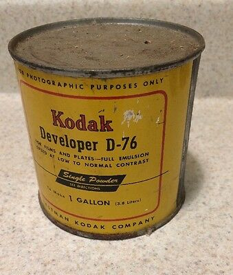 KODAK D-76 Film Developer to make 1 US Gallon NEW OLD STOCK