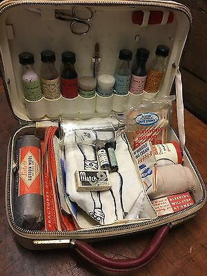 Vintage 1950s Collectable Amada First Aid Kit