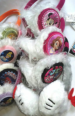 21 X Wholesale Joblot Disney Kids Earmuffs Headband Set Clothes Accessries